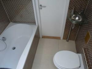 Zelfs in een kleine ruimte is het toch mogelijk om een mooie badkamer te maken.