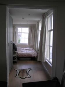 Klein balkon maakt plaats voor slaapkamer