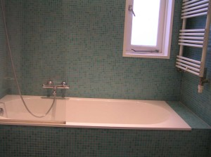Nieuw raam in badkamer